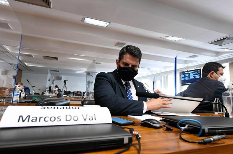 O requerimento foi do senador Marcos do Val (Podemos-ES) - Edilson Rodrigues/Agência Senado
