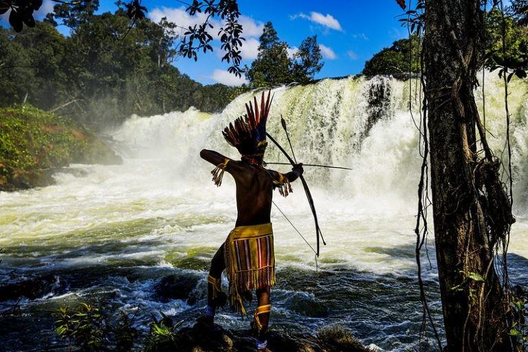 Povos indígenas usam recursos naturais sem colocar em risco os ecossistemas - (Foto: Marcos Vergueiro/Secom-MT)