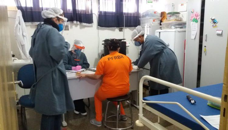 estagem detectou 21 internas infectadas pelo coronavírus. (Foto: Assessoria)