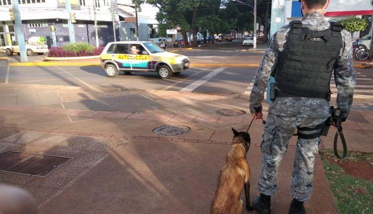 Policiamento ostensivo também foi intensificado.(Divulgação).