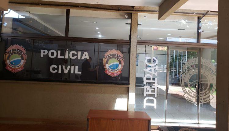 Caso foi registrado na Depac de Dourados. (Foto: Marcos Morandi).
