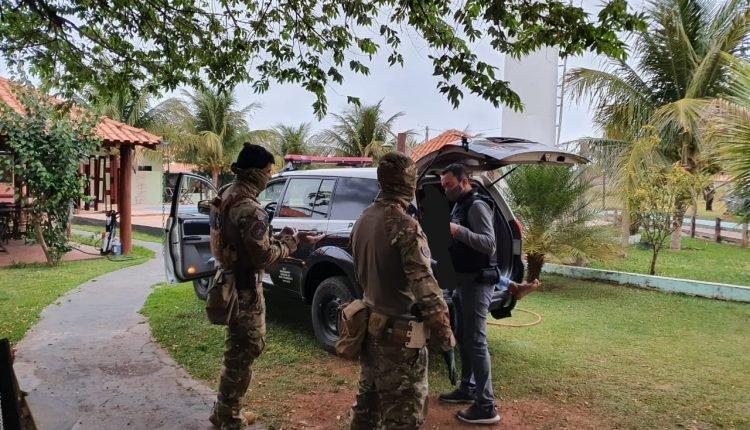 Suspeito foi preso em Bataguassu (Foto: Da Hora Bataguassu)
