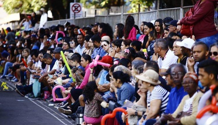 Desfile cívico de aniversário de Campo Grande em agosto de 2019 | (Marcos Ermínio, Midiamax)