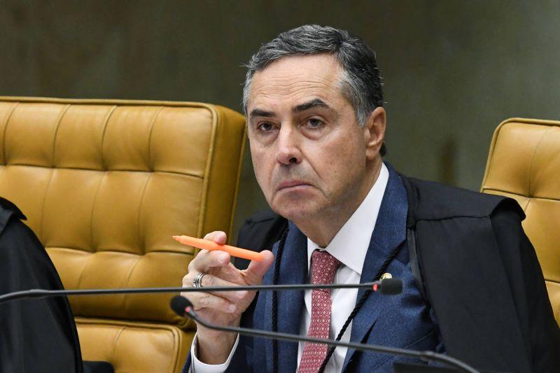 Ministro Barroso, do STF, negou prorrogação dos efeitos de liminar a venezuelanos - (Foto: Carlos Moura/SCO/STF - 04.03.2020)