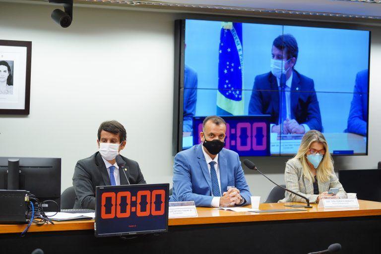 Soraya Manato defendeu divulgação de novas tecnologias no tratamento da Covid-19 - (Foto: Pablo Valadares/Câmara dos Deputados)