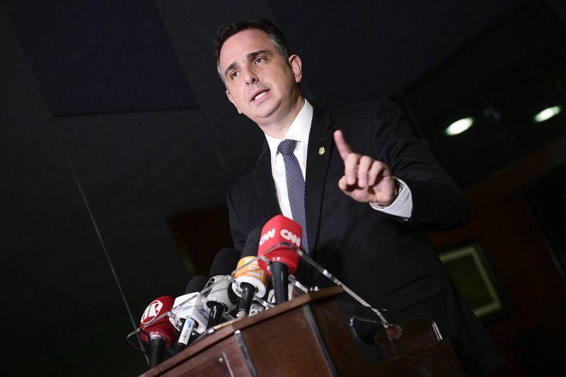 O presidente do Senado, Rodrigo Pacheco - (Foto: Pedro França/Agência Senado - 08.04.2021)