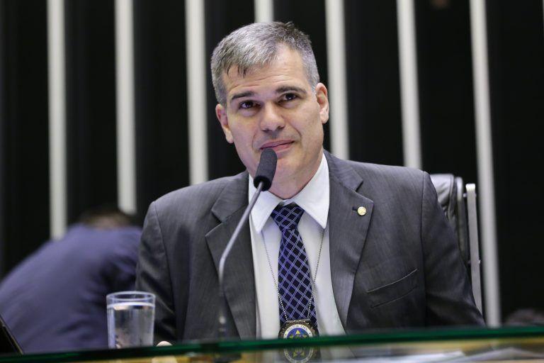 O autor do projeto, deputado Delegado Antônio Furtado - (Foto: Michel Jesus/ Câmara dos Deputados)