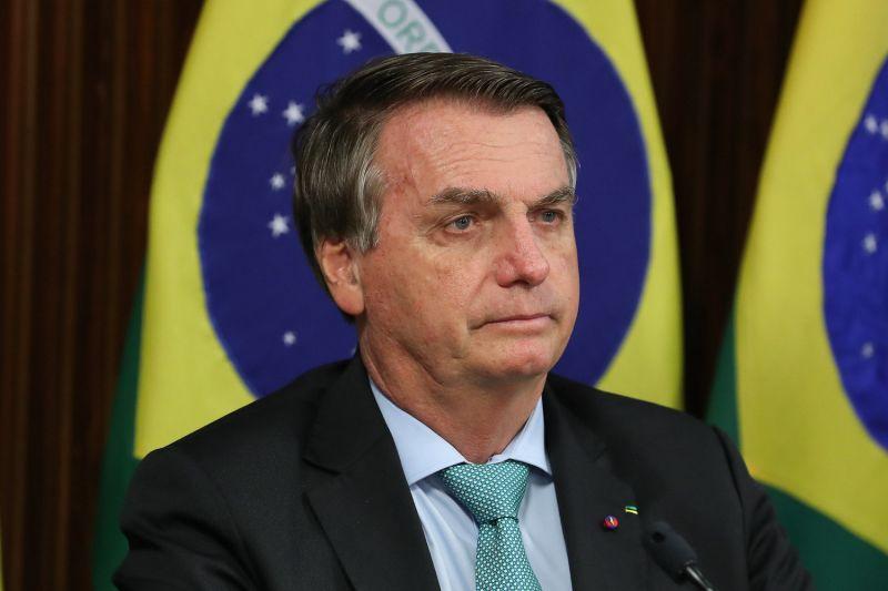 Bolsonaro discursou na Cúpula do Clima - (Foto: Marcos Corrêa/PR - 22.04.2021)