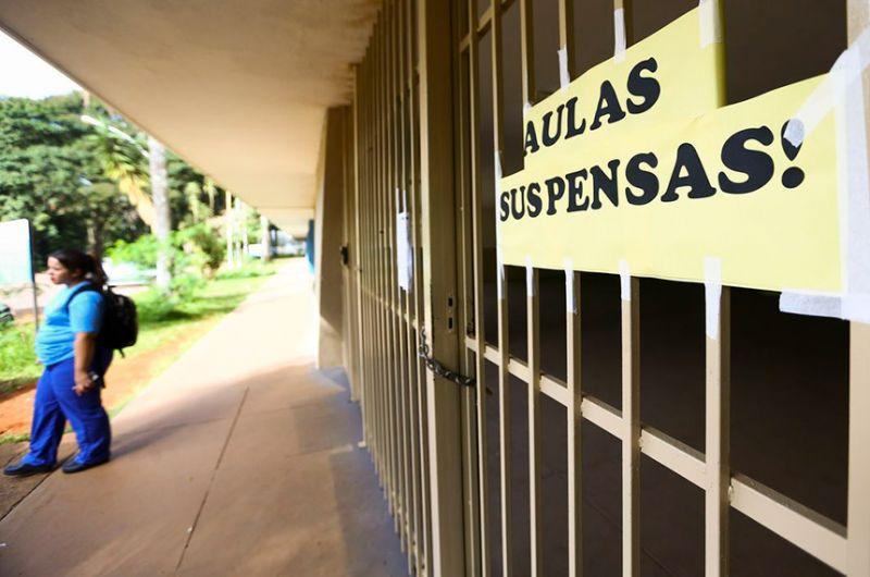 Escola fechada no DF: falta de recursos da rede pública para manter ensino será tema de audiência - Marcelo Camargo/Agência Brasil