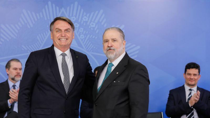 Aras afirmou que presidente não pode ser responsabilizado por ato de ministros - (Foto: Foto: Isac Nóbrega/PR - 26/09/2019)