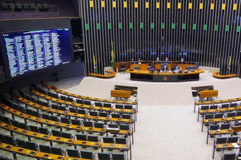 Sessão virtual do Plenário da Câmara dos Deputados - (Foto: Pablo Valadares/Câmara dos Deputados)