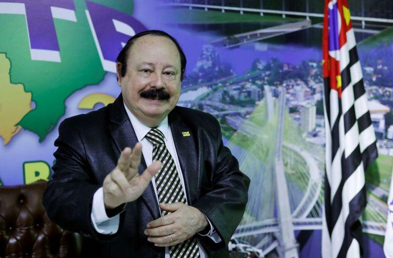 Levy Fidelix participou das eleições pela prefeitura de São Paulo, em 2020. - (Foto: ALEX SILVA/ESTADÃO CONTEÚDO)