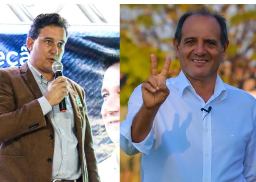 José Paulo Paleari (DEM) [Direita], e Arlei Barbosa (MDB)