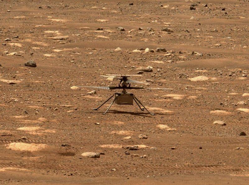 Não se saberá se a experiência funcionou até às 12h21 - (Foto: NASA/JPL-Caltech/ASU)
