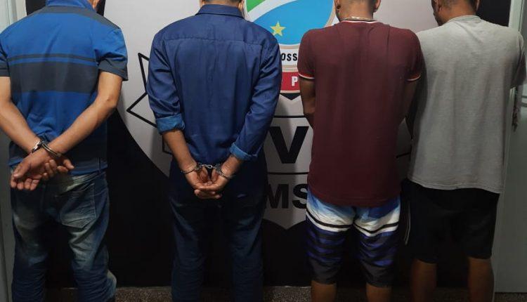 Os quatro foram presos em ação conjunta. Imagem: Divulgação