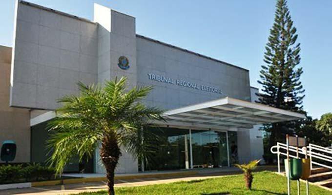 Fachada do TRE-MS em Campo Grande. Declaração de bens são divulgados pela Justiça Eleitoral. (Foto: Arquivo)