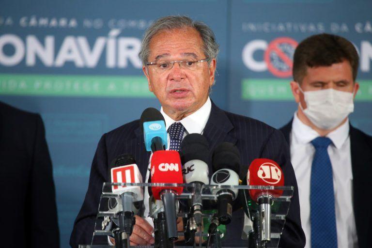 O ministro Paulo Guedes havia sido convidado inicialmente pela Comissão de Fiscalização Financeira e Controle - (Foto: Najara Araujo/Câmara dos Deputados)