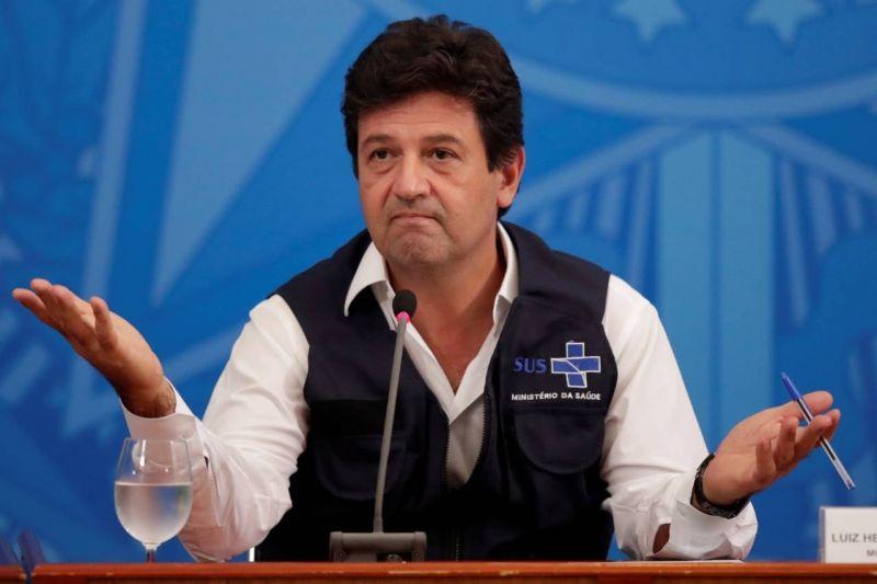 Mandetta acusou Bolsonaro de omissão em livro - (Foto: REUTERS/Ueslei Marcelino 15/04/2020 )