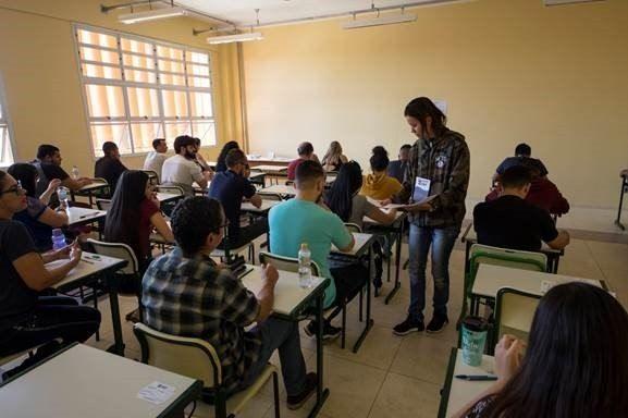 Estudantes podem pedir redução ou isenção de taxa do vestibular da Fatec - (Foto: Gastão Guedes/Divulgação)