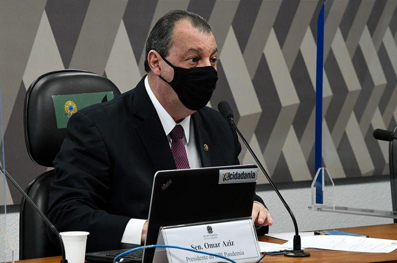 Omar Azis é presidente da CPI da Pandemia - Edilson Rodrigues/Agência Senado