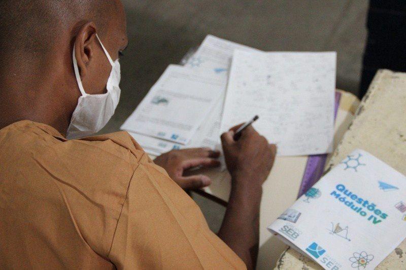 Mais de 2.400 presos de SP se classificaram no Enem para concorrer a vaga no Sisu - (Foto: Reprodução )