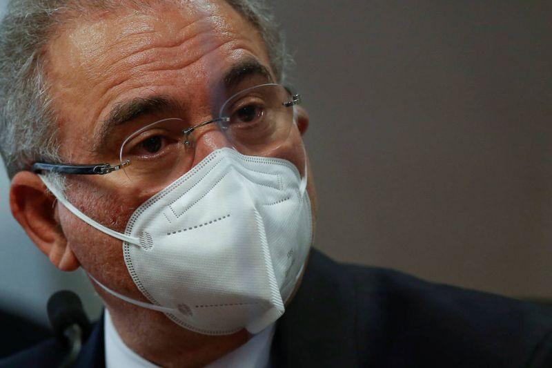 Ministro Marcelo Queiroga - (Foto: Adriano Machado/ REUTERS 06.05.2021)
