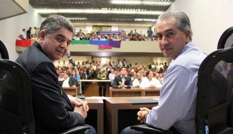 Marcio Monteiro e Reinaldo Azambuja (Foto: Marycleide Vasques/Divulgação)