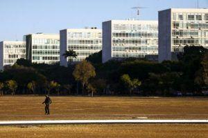 Esplanada dos Ministérios em Brasília onde trabalham milhares de funcionários públicos federais - (Foto: Leonardo Sá/Agência Senado)