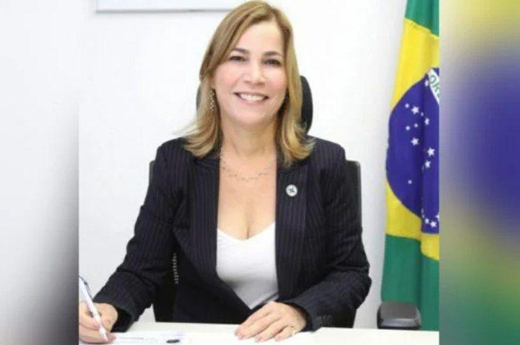 A secretária de Gestão do Trabalho e da Educação na Saúde Mayra Pinheiro, - (Foto: Reprodução/Facebook)