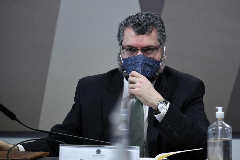 Telegramas provam que Embaixada avisou Araújo da carta ainda em setembro - (Foto: Edilson Rodrigues/Agência Senado - 18.05.2021)