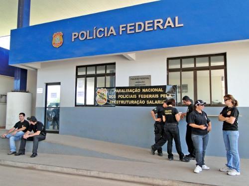 Polícia Federal em Corumbá (Foto: Divulgação/Sinpef-MS)