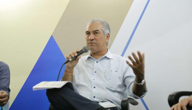 Reinaldo Azambuja, governador de Mato Grosso do Sul (Foto: Leonardo de França/Midiamax)