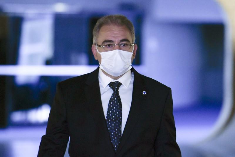 Queiroga diz que não é censor do presidente - (Foto: Edilson Rodrigues/Agência Senado - 08.06.2021)