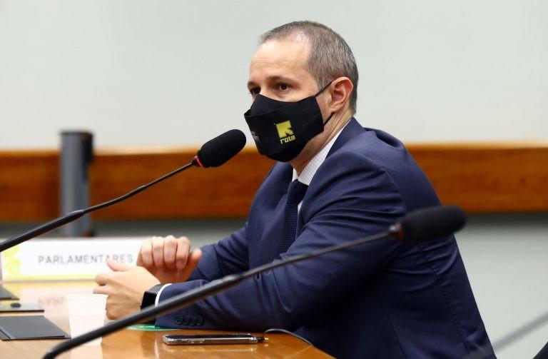 Guilherme Derrite foi eleito presidente da subcomissão especial - (Foto: Najara Araujo/Câmara dos Deputados)