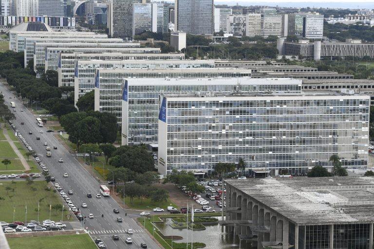 Esplanada dos Ministérios, em Brasília, onde trabalham milhares de servidores - (Foto: Edilson Rodrigues/Agência Senado)