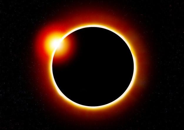 Eclipse não será visto do Brasil - (Foto: Freepik)