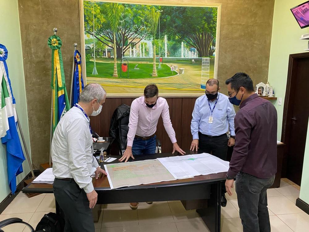 Rio Brilhante: COAMO apresenta projeto de investimento de R$ 81 milhões ao prefeito Lucas Foroni