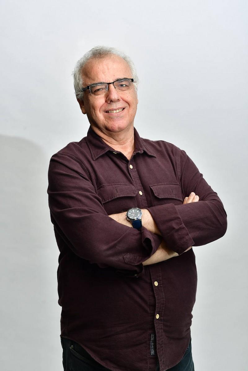 O jornalista Domingos Fraga - (Foto: Eduardo Enomoto/R7)