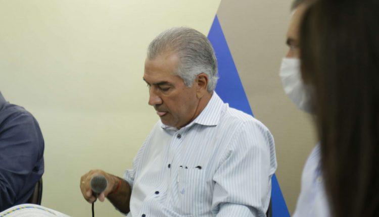 Governador Reinaldo Azambuja (Foto: Leonardo de França/Midiamax)