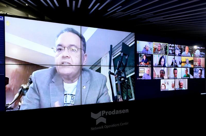 Proposta de Alvaro Dias define regras para a transmissão de debates por meio de redes sociais e portais de imprensa - Pedro França/Agência Senado