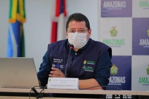 Campelo é acusado de beneficiar grupo empresarial - (Foto: Diego Peres/Governo do Amazonas - 13/03/2021)