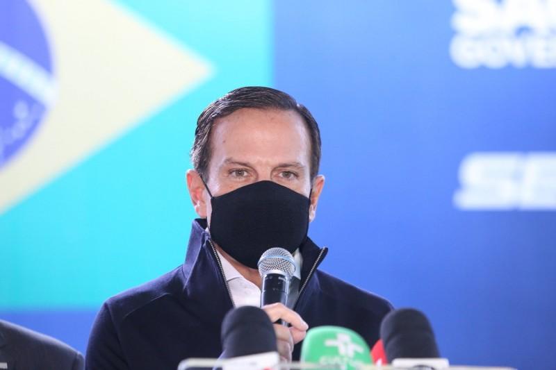 Doria elogiou prévias para escolher nome para 2022 - (Foto: Governo do Estado de São Paulo - 16.06.2021)
