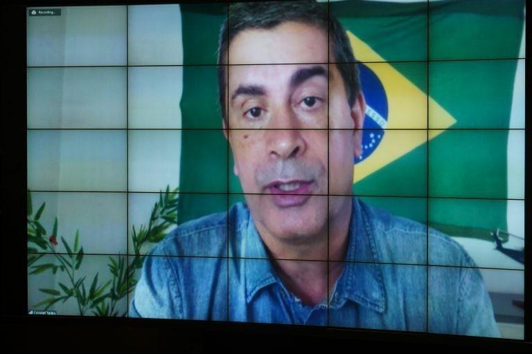Deputado não quis comentar punição; ele poderá recorrer em dois dias úteis - (Foto: Pablo Valadares/Câmara dos Deputados)