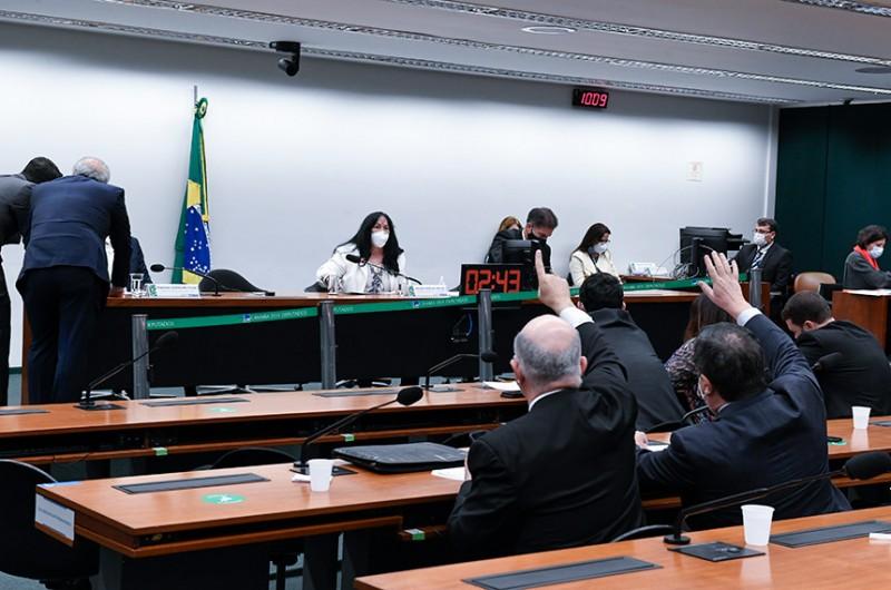 A senadora Rose de Freitas comanda a reunião da CMO na manhã desta quinta - Roque de Sá/Agência Senado