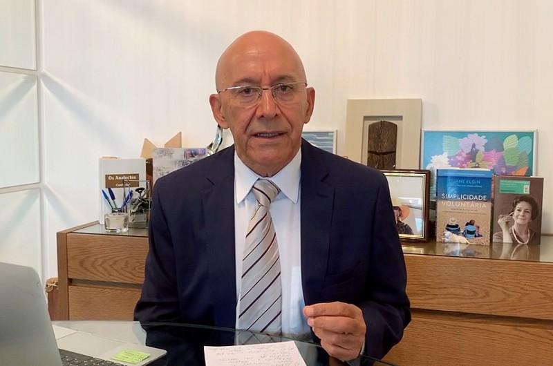 Confúcio Moura é presidente da Comissão Temporária da Covid-19 - Agência Senado